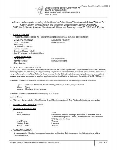 Minutes Of The Regular Meeting Of The Board Of Education Of If you rent out your property for events or daily use by third parties, you can use this facility rental agreement template as a simple binding contract that clearly defines the terms of the facility rental. minutes of the regular meeting of the