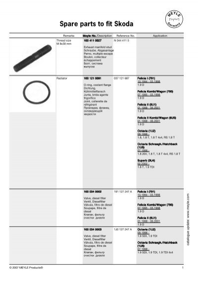 MEYLE 100 498 0038 Radlagersatz