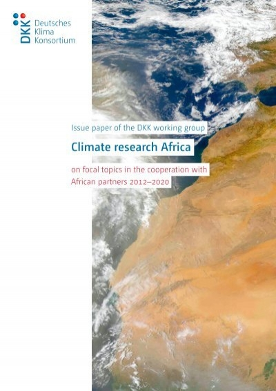 a paper on controversial issue of climatic changes