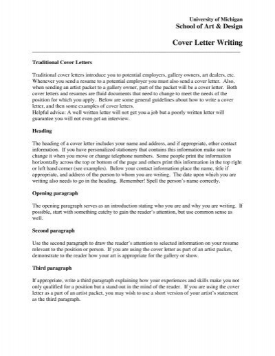 Cover Letter First Paragraph from www.yumpu.com
