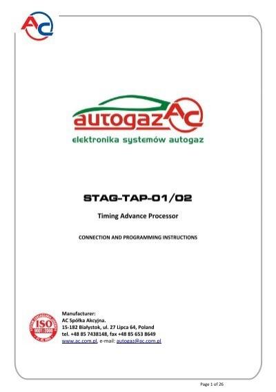 Stag Tap 01 02 Timing Advance Processor