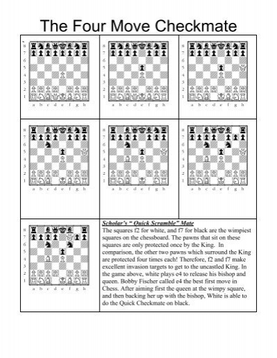 the four move checkmate academic chess
