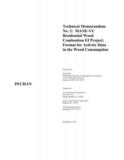 taxation technical memorandum