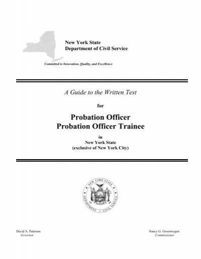 a probation officers view of effectiveness The nyc department of probation (dop) is in the midst of incorporating evidence-based policies and practices into virtually everything we do, from supervision to training to community outreach dop is reviewing all of our policies, practices and programs in a systematic, deliberate way to identify.