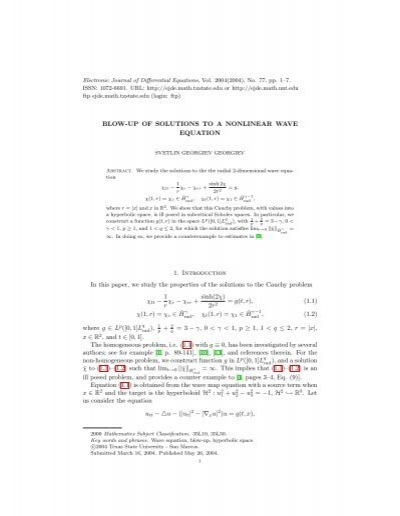 journal of ordinary differential equations pdf