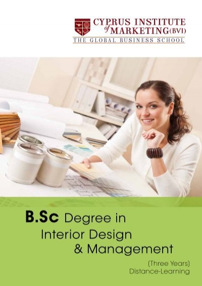 BSc Interior Design Management Leaflet