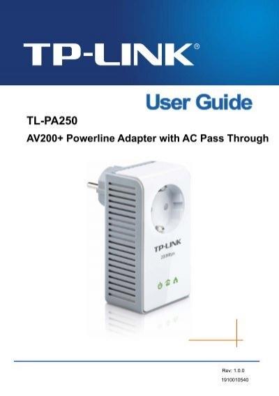 Tp-link manual download