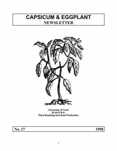 No 17 1998 123 Pages The Chile Pepper Institute