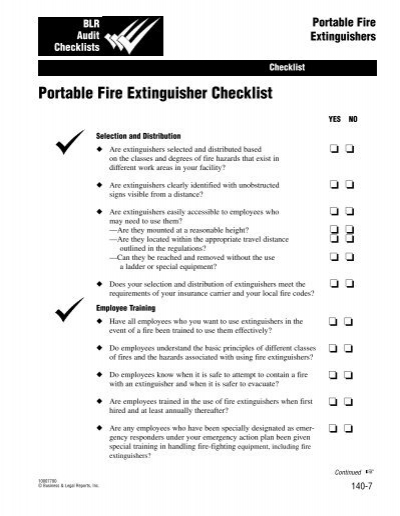 Portable fire extinguisher checklist monarch beverage thecheapjerseys Images
