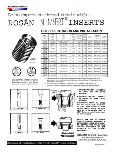 Rosan fittings catalog