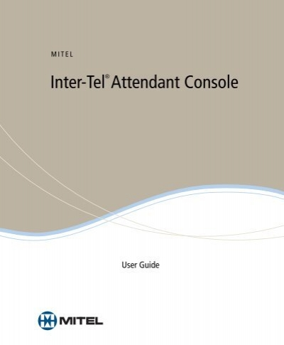 Mitel inter-tel 5000 installation and maintenance manual pdf download.