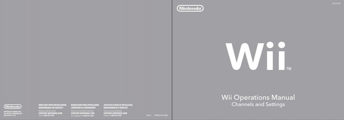 wii operations manual