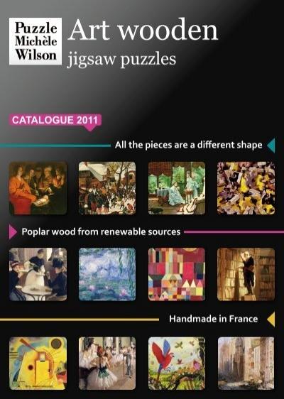 Puzzle Mich/èle Wilson Colle repositionnable 404 pour Puzzle Michèle Wilson