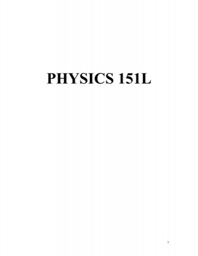 lab report on physical activity Physics lab report guidelines summary the following is an outline of the requirements for a physics lab report a experimental description 1 provide a statement of the physical theory or principle observed during the exper.