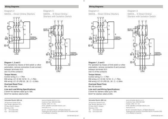 diagram 2 56dol    direct online starters diagram 3 56dol