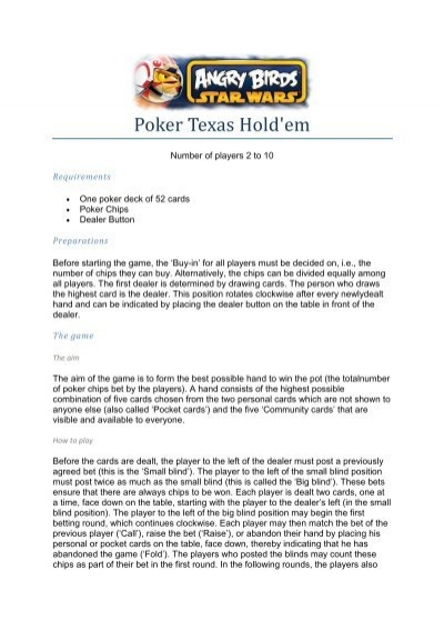 Poker Texas Hold Em Cartamundi