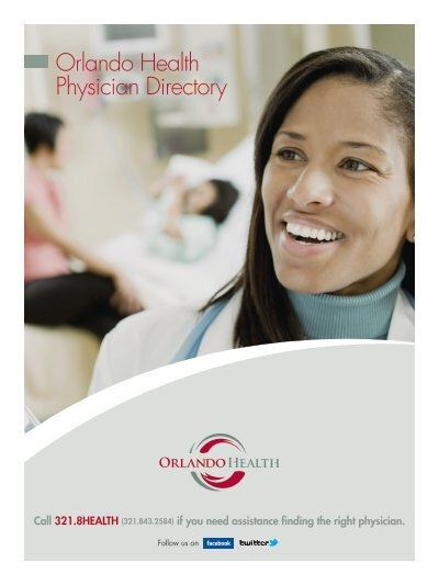 Orlando Health Physician Directory Find A Physician