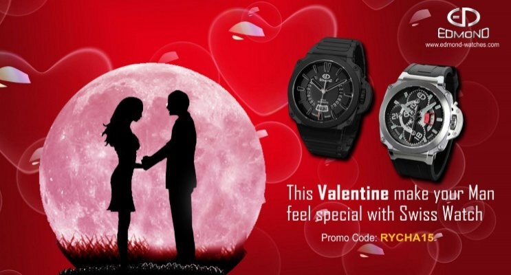Special Valentine S Day Offer By Edmond Watches