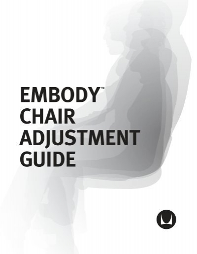 Adjust embody chair