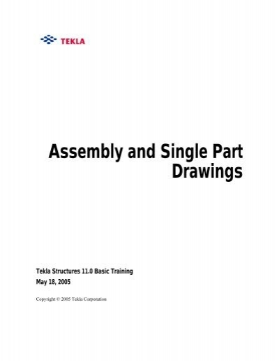 Assembly and Single Part Drawings - Free