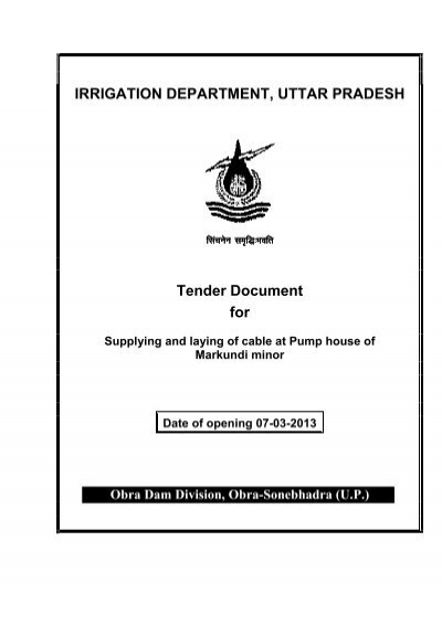 Minor irrigation department up tenders dating