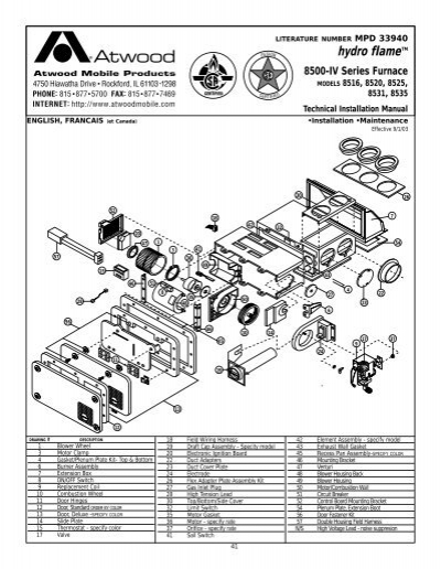 atwood 8935 furnace wiring diagram rv