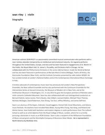 Nicholas Ma Biography