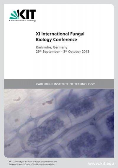 Abstract Book Am Institut Fa R Angewandte Biowissenschaften Kit