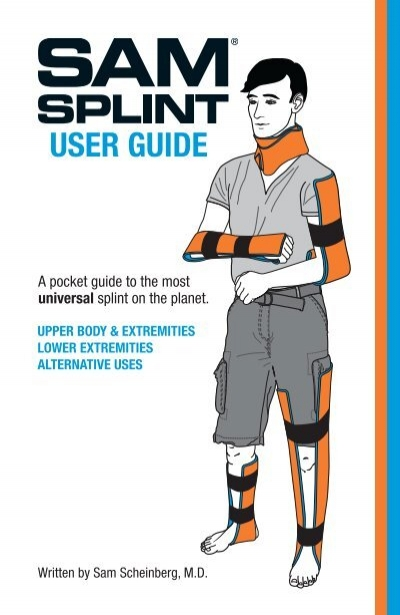 Amazon. Com: sam® splint user's guide and reference card: health.