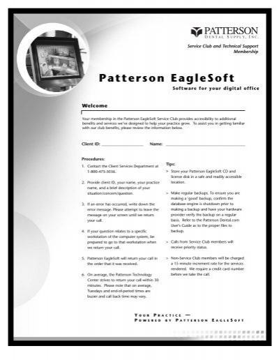 Patterson EagleSoft