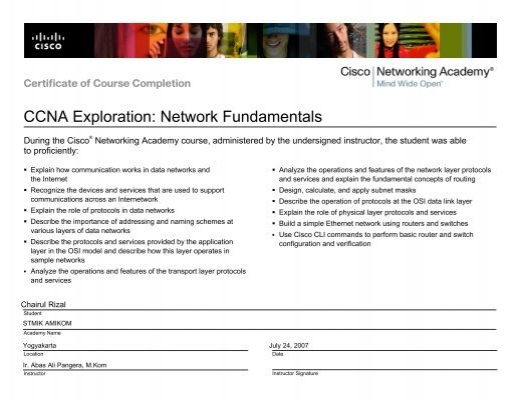 ccna exploration network fundamentals rh yumpu com Cisco Learning Lab Cisco Practice Labs
