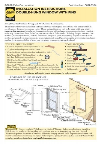 Anatomy Of A Double Hung Window Manual Guide