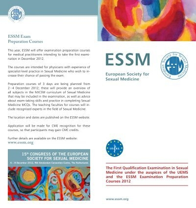 European society of sexual medicine
