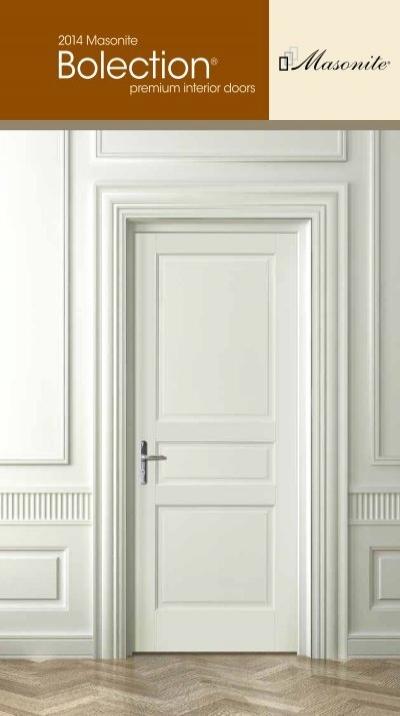 Bolection Premium Interior Doors Masonite