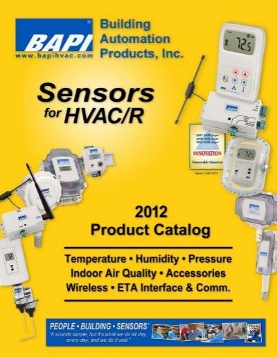 BAPI Humidity Sensor Outside Air Unit BA//10K-3-H200-O-BB