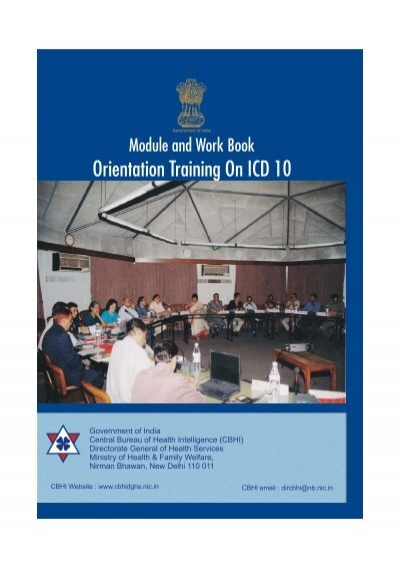 Orientation Training On Icd 10 Central Bureau Of Health Intelligence