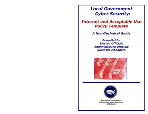 internet and acceptable use policy template multi state