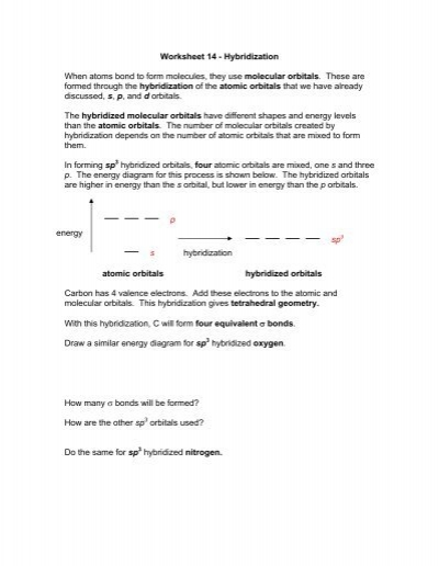 Printables Atoms And Molecules Worksheet atoms and molecules worksheet pichaglobal 16 hybridization when bond to form molecules