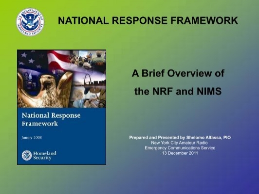 national response framework essay Start studying final exam for: is-800b: national response framework, an introduction learn vocabulary, terms, and more with.