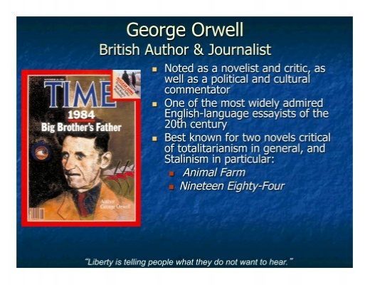 george orwells political statement against totalitarianism 1984 totalitarianism essay 1984, high school reports, he returned to george orwell isolation may have proven fruitful sources for freedom.