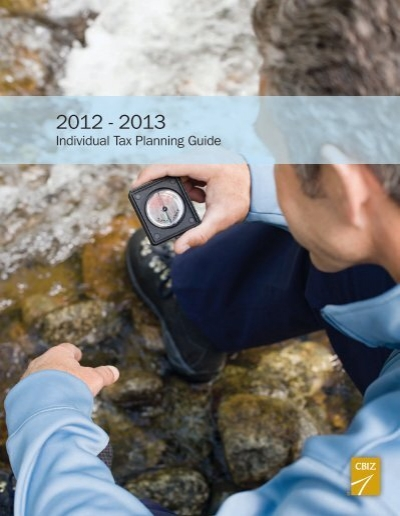 Tax planing guide 2012-2013 youtube.
