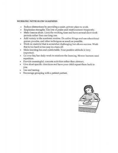characteristics of slow learners pdf