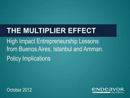 The Multiplier Effect Prosoft