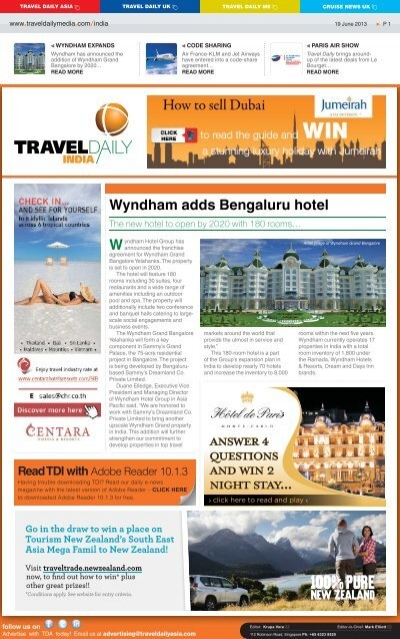 19 June 2013 Indd Travel Daily Media