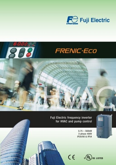 Fuji Electric Frequency Inverter For Hvac And Pump Control