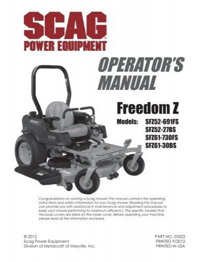 download manual scag power equipment rh yumpu com