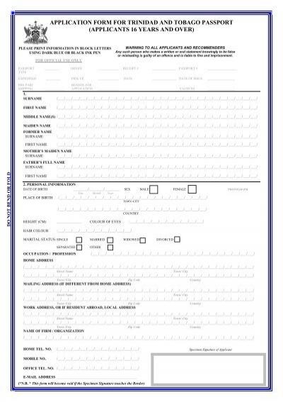 Machine Readable Passport Correction Form Pdf - Bangladesh ...