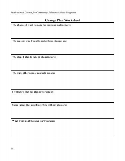 All Worksheets » Motivational Interviewing Worksheets  Printable Worksheets Guide for Children