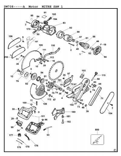 parts list for dw