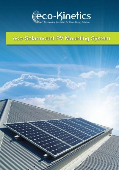 New eco solarmount pv mounting system solar360 sciox Image collections